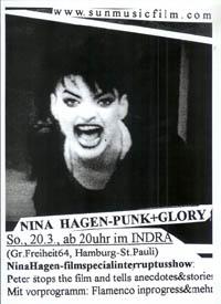 Nina Hagen - Punk+Glory filmspecialinterruptusshow