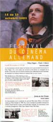 Paris - Festival Du Cinema Allemand